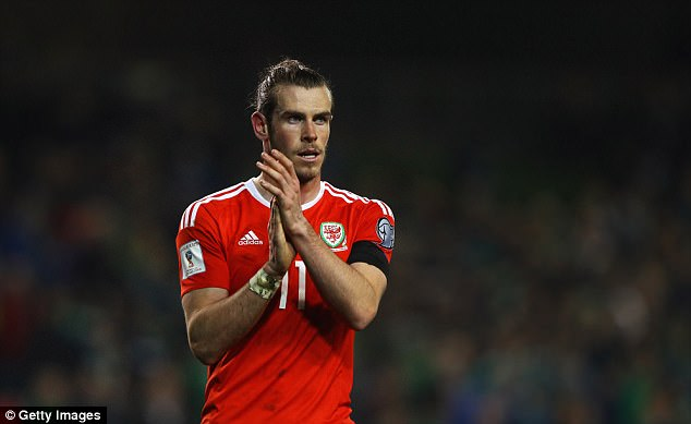 Gareth Bale collects £35.4m over the course of a season, less than half of Ronaldo's earnings
