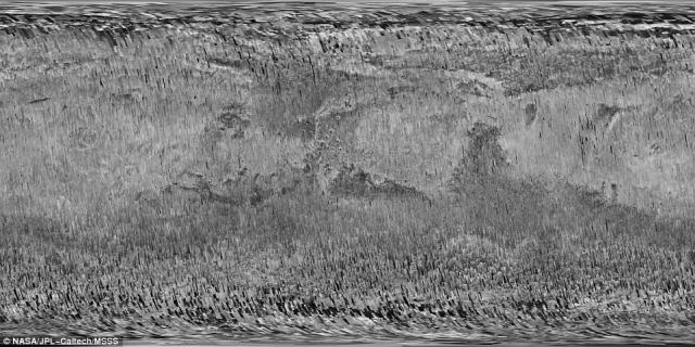 The orbiter's Context Camera (CTX) 'exploits a sweet spot in the balance between resolution and image file size,' according to NASA. It achieves a resolution of roughly 20 feet (6 meters) per pixel, and in the years since it switched on, it's imaged 99.1 percent of Mars – about the equivalent of the land area of Earth