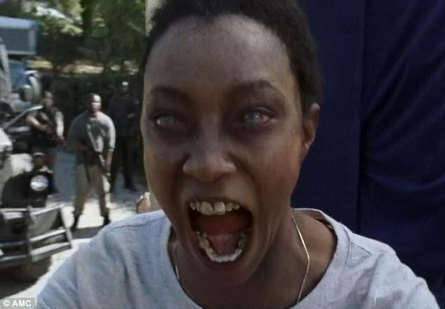 Image result for Sasha death walking dead