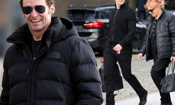 Hugh Jackman and Debra-Lee Furness spotted in New York ...