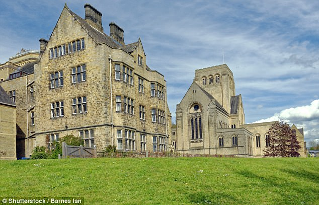 Father Sierla, 59, lived and worked at £30,000-a-year college, pictured, until 2012, despite accusations first being made against him eight years previously