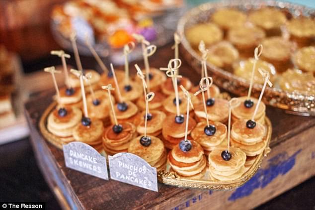 Horderves Wedding Reception Ideas