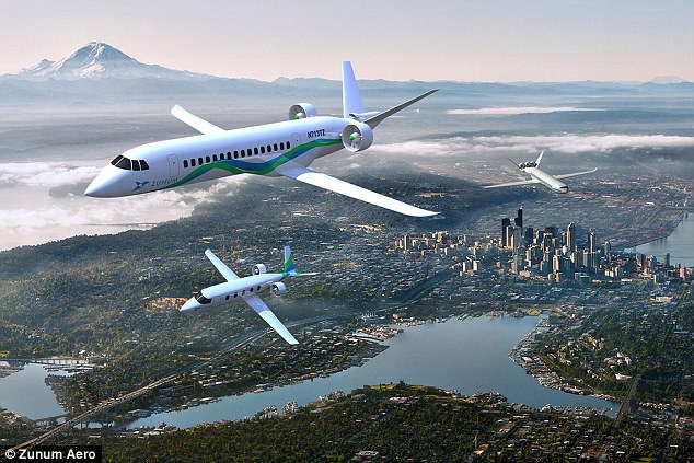 Boeing and JetBlue have turned their sights to hybrid-electric planes. The two aviation giants revealed this week that they are investing in a little-known company called Zunum Aero , a startup developing alternative propulsion aircraft