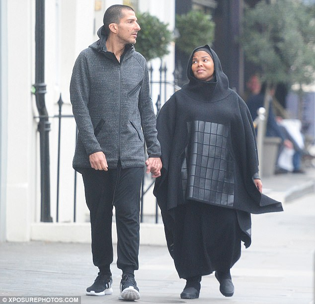 That's the way love goes: Recent rumours had claimed that Al Mana had helped three-times-married Jackson settle down as she traded fame for a role as a devoted mother and wife before their shock split