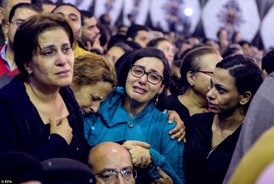 ISIS claimed the attacks through its Aamaq news agency, having recently warned that it would step up violence against Egypt's Christians