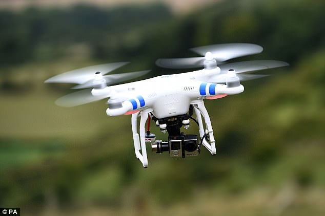 Drones could soon help you shop in Walmart   Daily Mail Online