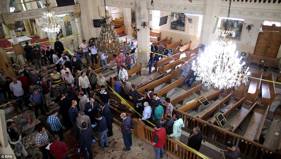 Approximately ten per cent of the Egyptian population are Christian and have been targeted several times by ISIS terrorists