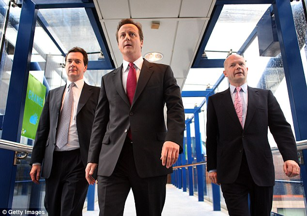Whetstone first met the future PM while they worked together (alongside a young George Osborne) at Conservative HQ