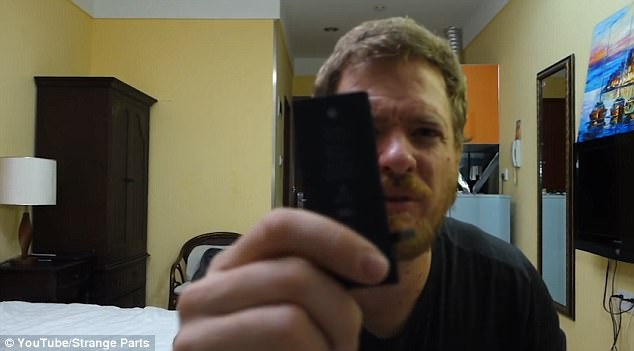 3F39C2E500000578 4410022 image a 24 1492110145047 - Man creates his own WORKING iPhone out of recycled parts