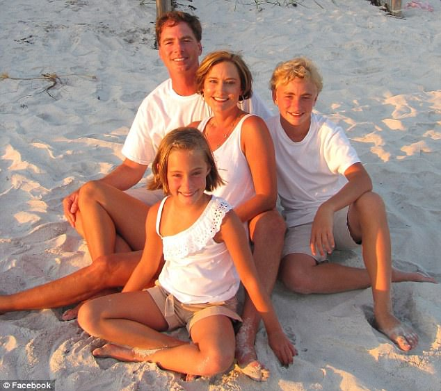 Joseph Crenshaw, 45, was last heard saying 'I'm doing the best I can,' while piloting a private plane back to Tennessee with his family on board when it crashed in Alabama on March 25, killing everyone; the Crenshaw family is seen here, L to R, Joseph, daughter Jillian Celeste, wife Jennifer Dawn and son Addison