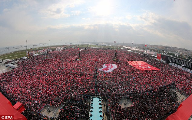 Until Erdogan became president the role was seen mainly as a ceremonial post