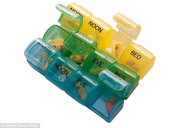 A free service likely to be scrapped during the £321million cuts is the provision of daily pill organisers, or ¿dosette boxes¿ (pictured)