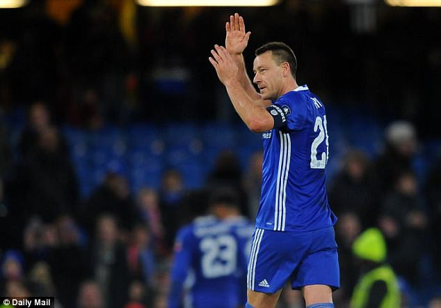 John Terry will be leaving his beloved Chelsea at the end of the season, it has been confirmed