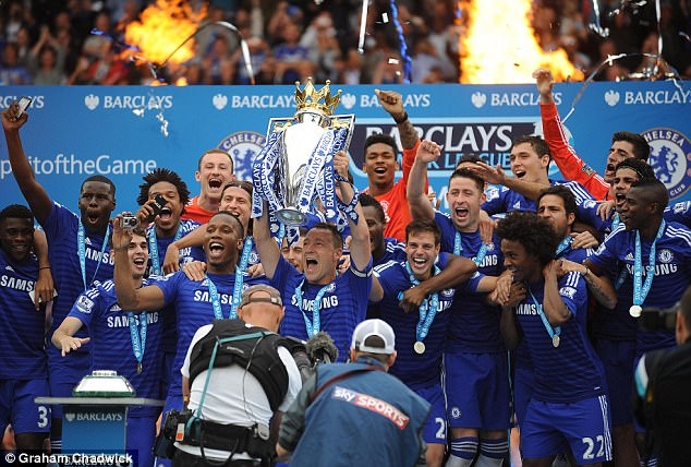 His last major honour at Chelsea came two seasons ago as he lifted the title for a fourth time