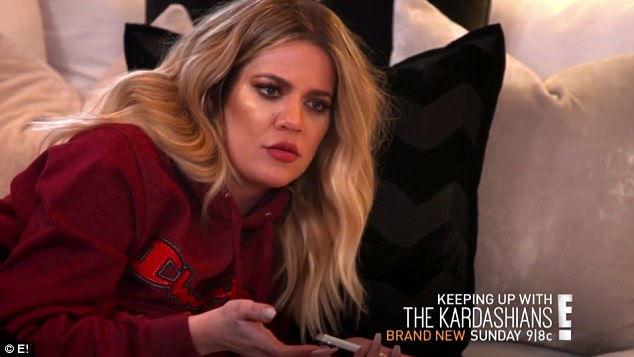 Drama: Khloé, 32, informs him that Chyna has been threatening to break things off with him