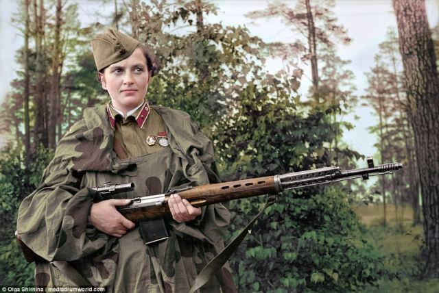 Deadliest Russian female snipers