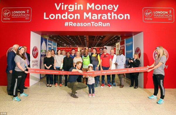 Prince Harry opens Virgin Money London Marathon Expo ...