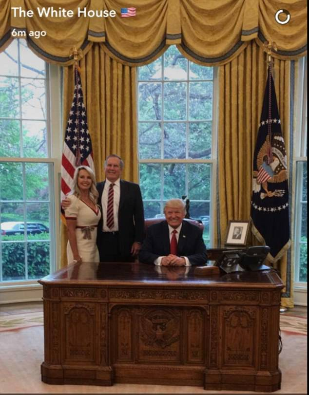 Earlier the White House tweeted out a photo of President Trump alongside Bill Belichick, the team's general manager, and his wife