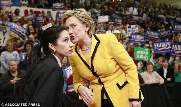 Clinton and Abedin had grown especially close since Weiner was exposed for sexting other women in 2011 and again two years later. Like Clinton's husband Bill, Abedin's husband was a high flying Democrat politician who had strayed in the most public way. And like Hillary, Huma stood by her man.
