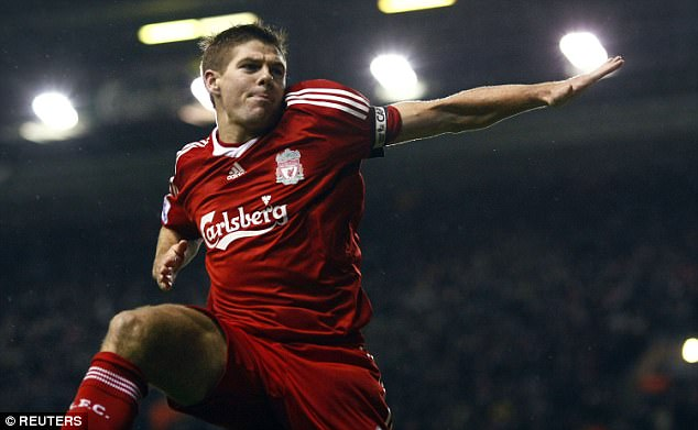 But Steven Gerrard is the all-time leader when it comes to personal nominations, with eight