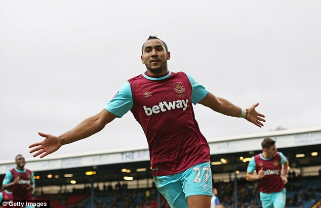 Dimitri Payet is the one and only representative for West Ham in the player of the year stakes