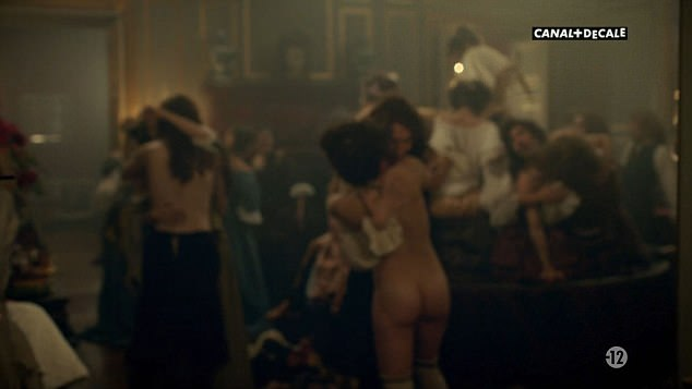 Here we go again!Scenes from episode six of the upcoming series, which kicks off on BBC2 on Friday, show courtiers enjoying a lavish orgy
