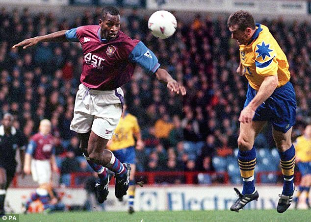 Image result for ugo ehiogu aston villa 1991