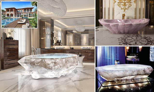 Holiday villas in Dubai come complete with $1m bathtubs