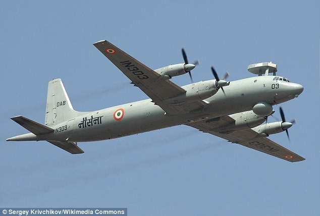 On Wednesday, the russians sent out a IL-38 maritime patrol aircraft (like the one seen above)