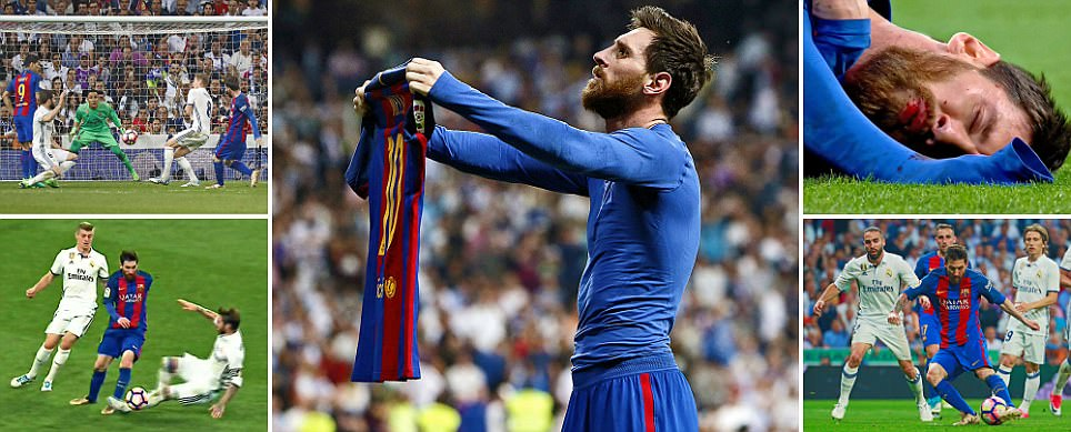 Real Madrid 2-3 Barcelona: Messi scores dramatic winner
