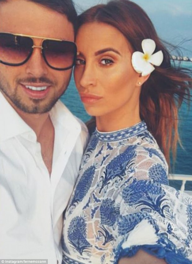 The big reveal:Ferne McCann has confirmed she is expecting a child with ex-boyfriend Arthur Collins, just a day after he was arrested on suspicion of an acid attack