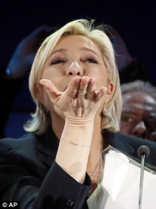 While Macron is a committed Europhile, Le Pen wants to pull France out of the EU. She once asked a television programme to remove the European flag from the stage during her speech
