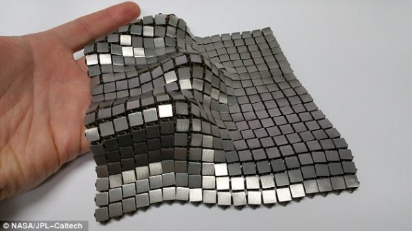 NASA hopes to protect astronauts with chainmail armour