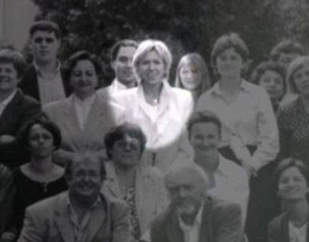 Luminous: Brigitte Trogneux, pictured as a young teacher above, was highly regarded for her well prepared and captivating lessons. The young Emmanuel Macron fell for her while they worked on a school drama together but his parents were upset by his infatuation