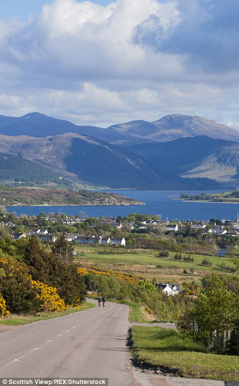 The A835 road towards Ullapool and Loch Broom boasts more breathtaking backdrops