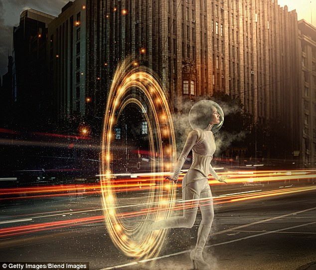 Since HG Wells first popularized the idea in 1885, time travel has remained a steady theme in science fiction. But in reality, it might be more feasible than you'd think. A stock image is pictured