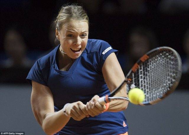 Kontaveit is ranked a modest 73 in the world, but started confidently and posed Sharapova a number of questions