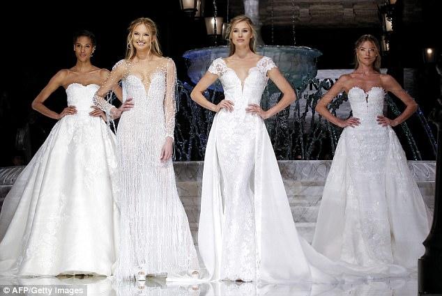 Victoria's Secret's Romee Strijd Thrills In Wedding Dress