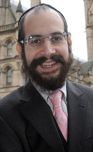 Ukip's Shneur Odze, pictured, is in the race to become the Mayor of Manchester - but he secretly met a 25-year-old office worker through a bondage and sadomasochism website