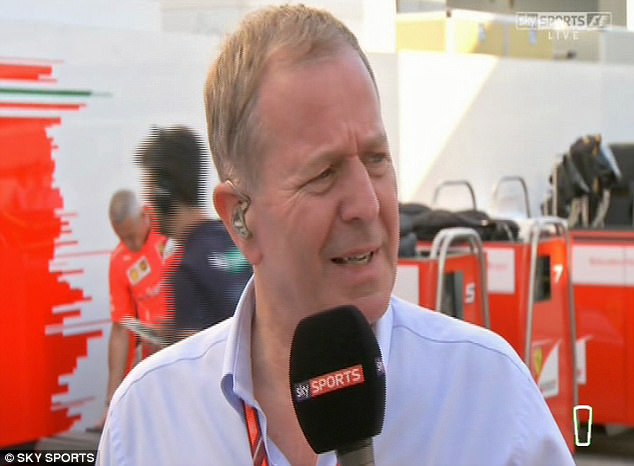 Image result for Martin Brundle ill + in the Medical Centre