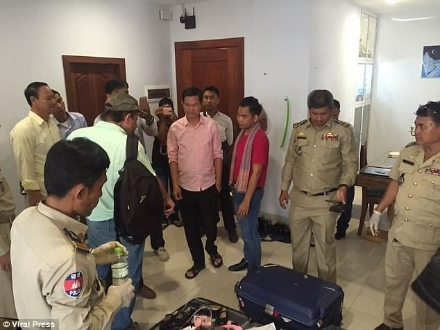 Keo Thea, the Phnom Penh municipal anti-human trafficking police chief, said officers had been following Cressy for a number of months