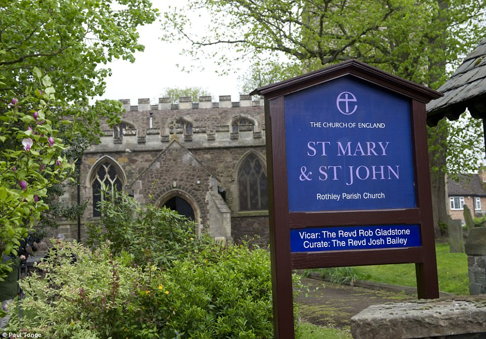 The service was held at St Mary and St John Church, where they have been regularly to pray after the disappearance of Madeleine in 2007