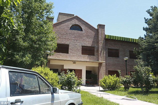 Pictured is the Provolo Institute where the alleged incident took place. It's located in Lujan de Cuyo, a city about 620 miles northwest of Buenos Aires