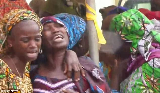 The release of 82 Chibok schoolgirls by Boko Haram brought emotional scenes from their families in Nigeria