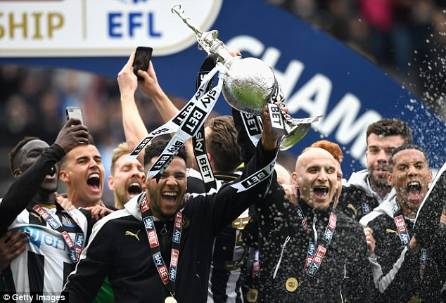 Image result for newcastle championship 2017
