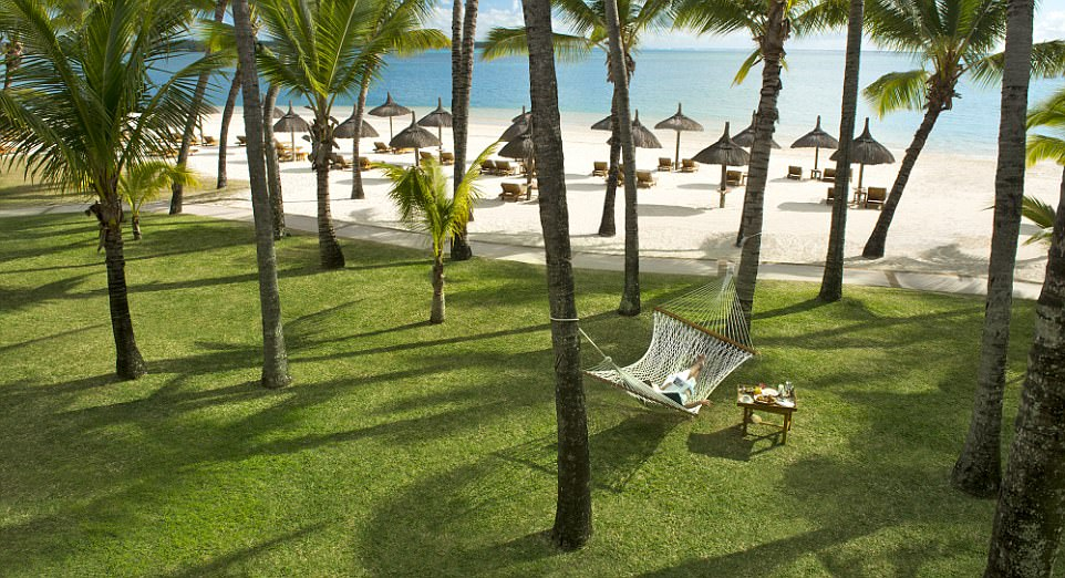 Family deals: The lure with the One&Only resort Le Saint Geran in Mauritius is that under-fives can stay half board for free