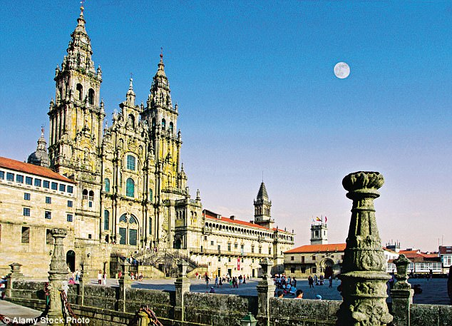 Place of worship: Santiago de Compostela cathedral is the reputed burial place of Saint James the Great, one of the apostles of Jesus