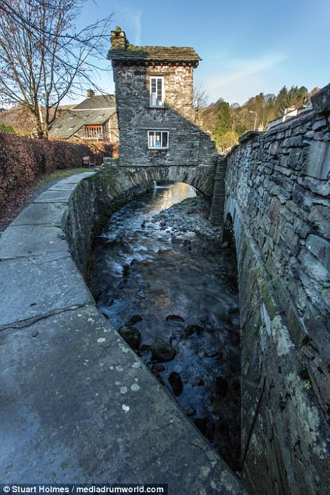 Bridge House dates back to the 17th century and thousands of people visit the kooky abode every year