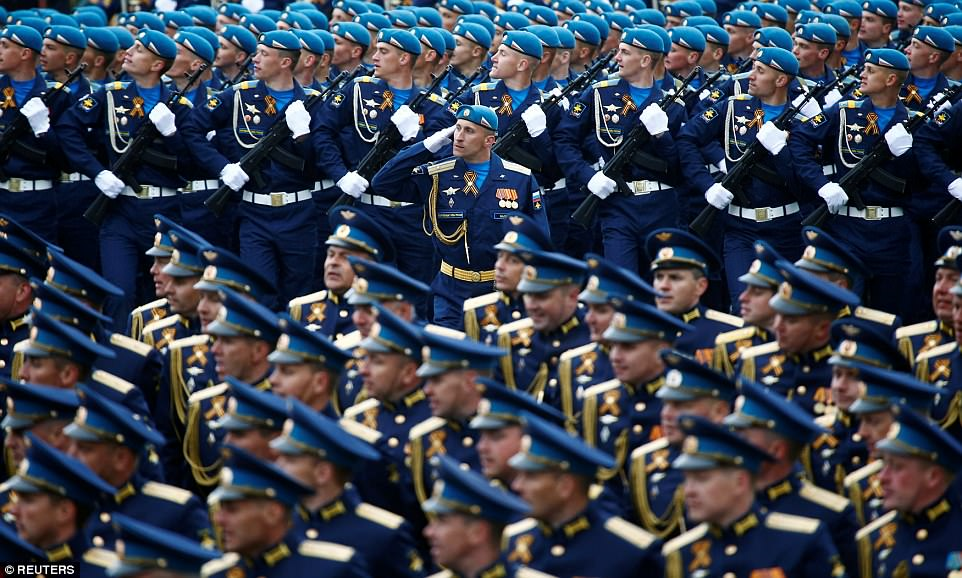 The Kremlin has been flexing its military muscle in the hydrocarbon-rich Arctic region, as it vies for dominance with rivals Canada, the United States and Norway