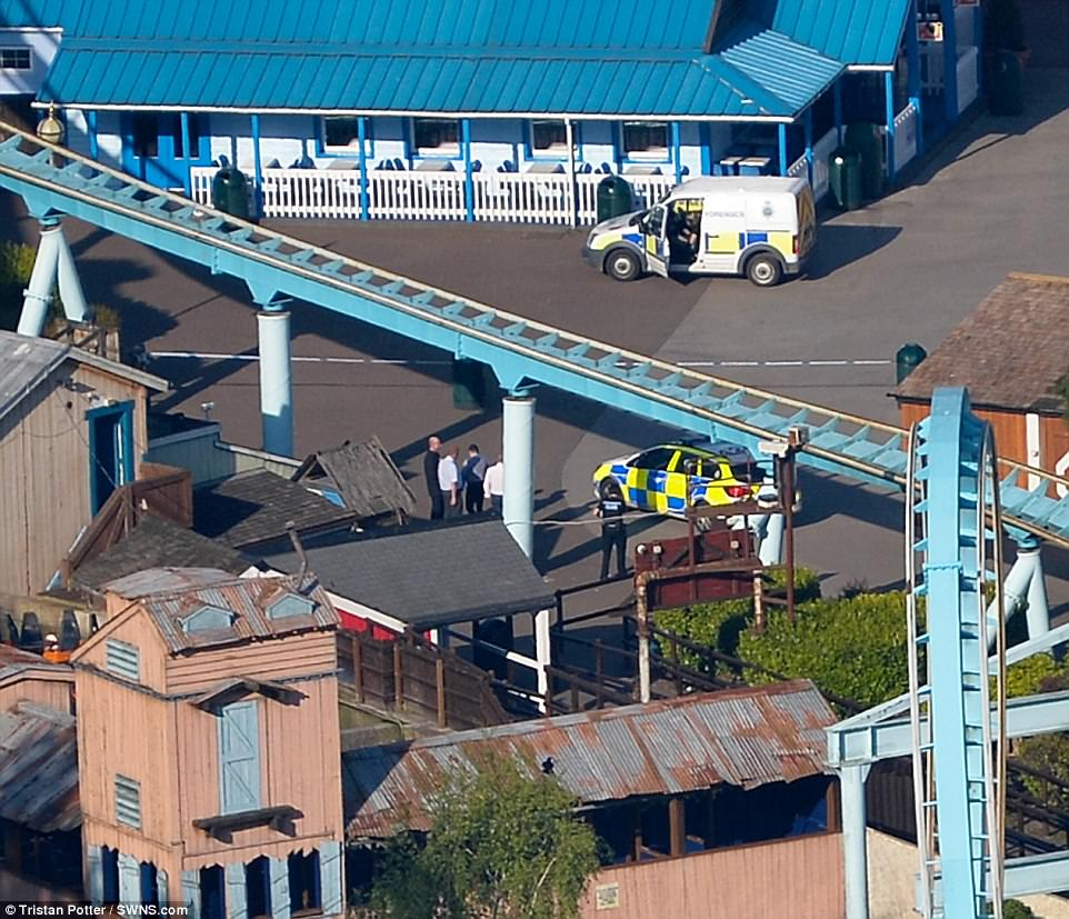 The girl sustained serious injuries after falling into the water from the ride and was airlifted to hospital but sadly died